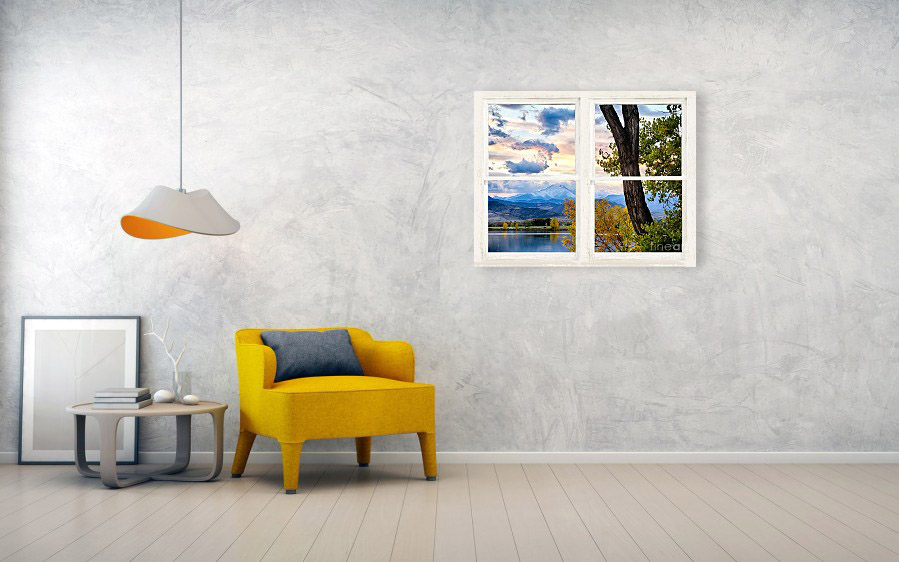 Window Frame Art Pictures That Look Like Window Views Whitewash